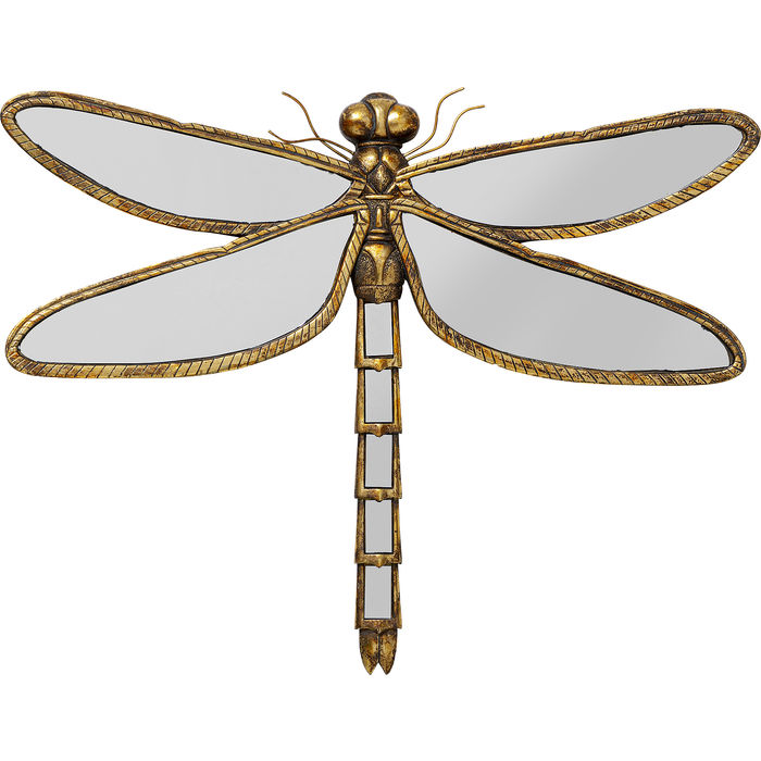 Wall Decoration Dragonfly Mirror 71