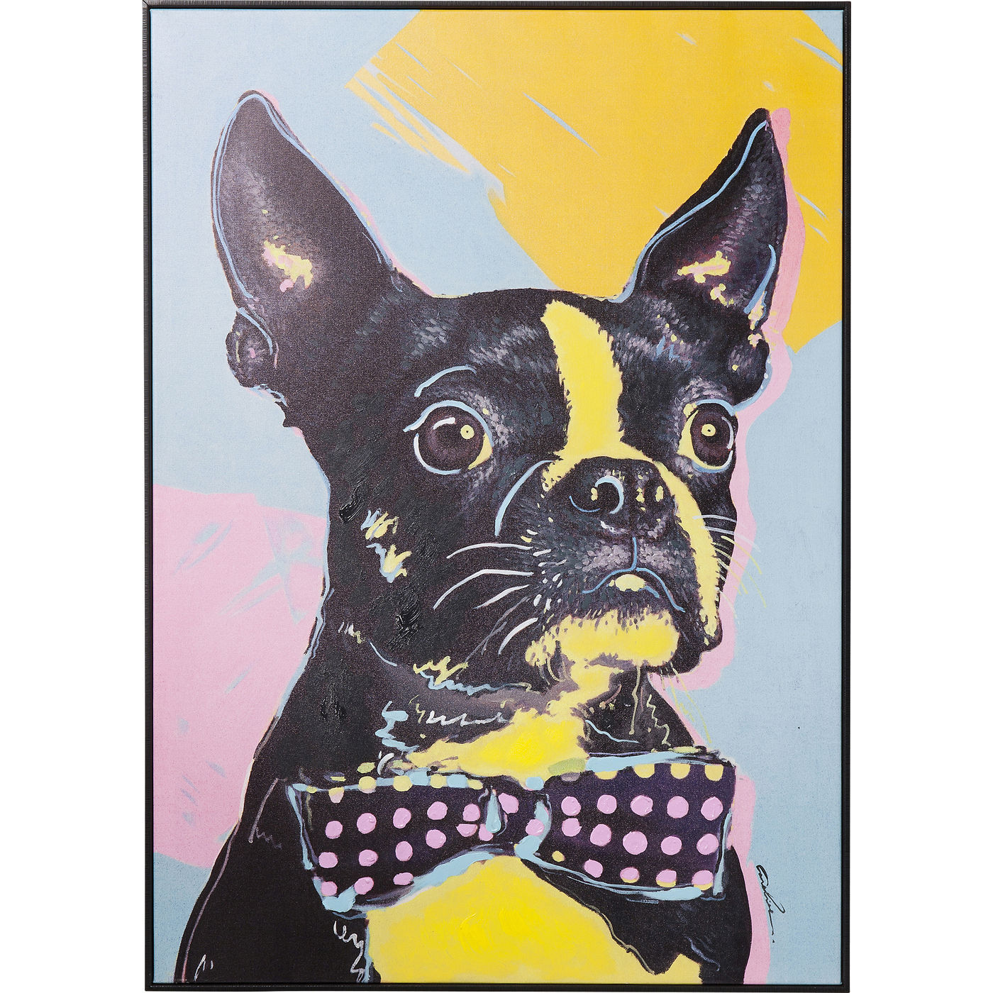 Picture Touched Monsieur Toto 102x72cm - KARE Tallinn