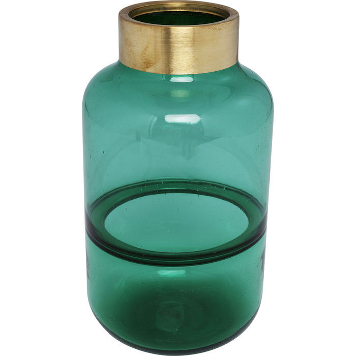 Vase Positano Belly Green 28cm