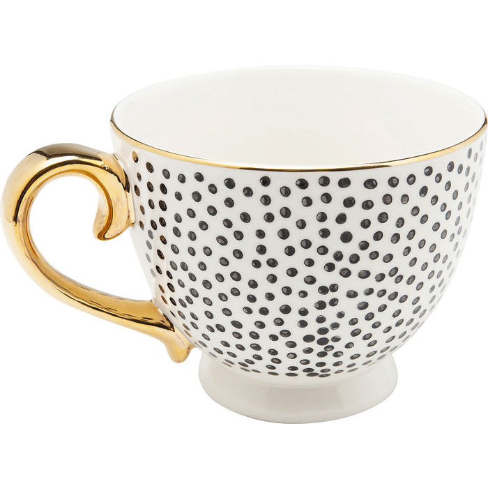 Coffee Cup Dotty Rim