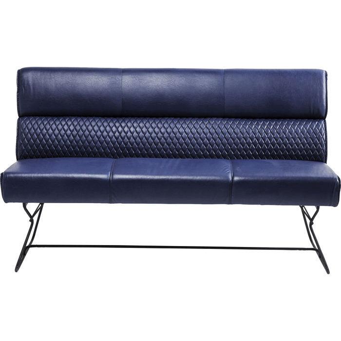 Bench With Backrest Melange 180cm