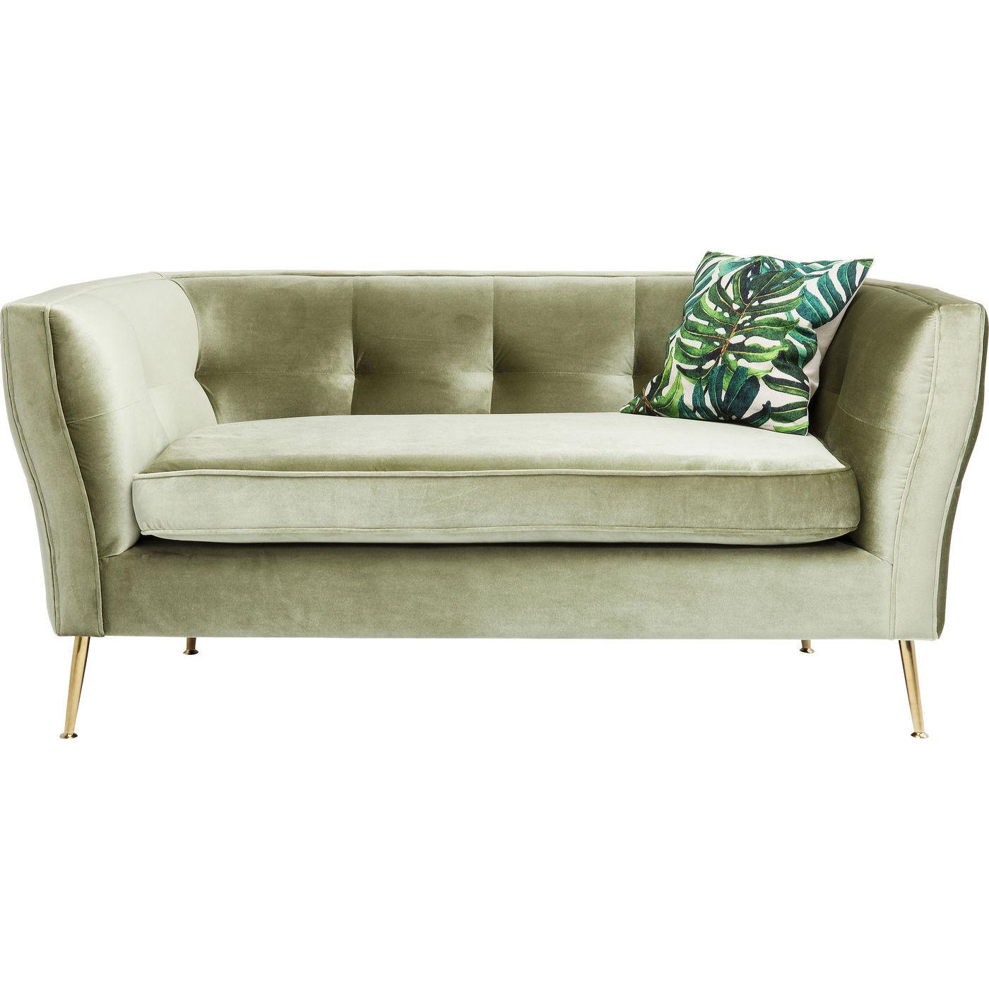 Sofa Rimini Green 2 Sitzer 160cm KARE Design
