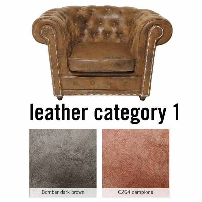Arm Chair Cambridge Individual Leder 1