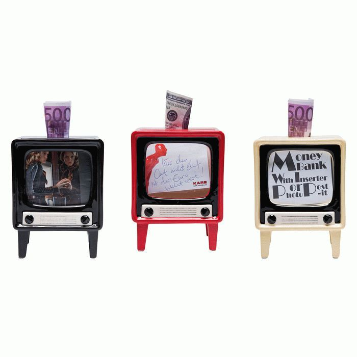Money Box TV Assorted