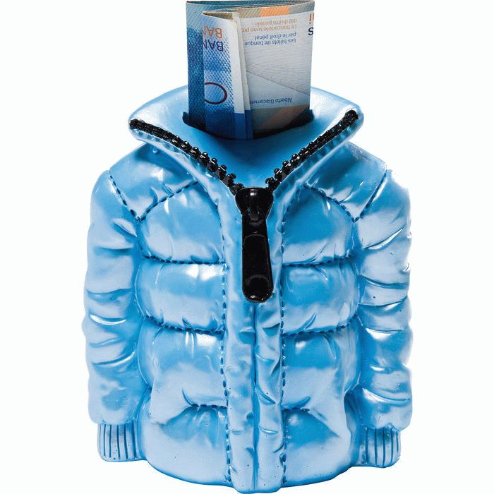 Money Box Anorak Light Blue