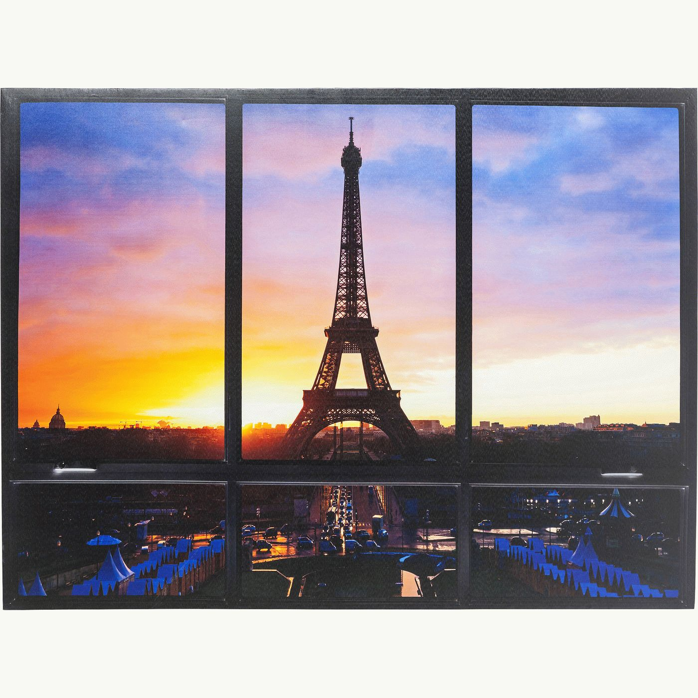 Picture window eiffel tower 95x113cm kare design picture window eiffel tower 95x113cm jeuxipadfo Images