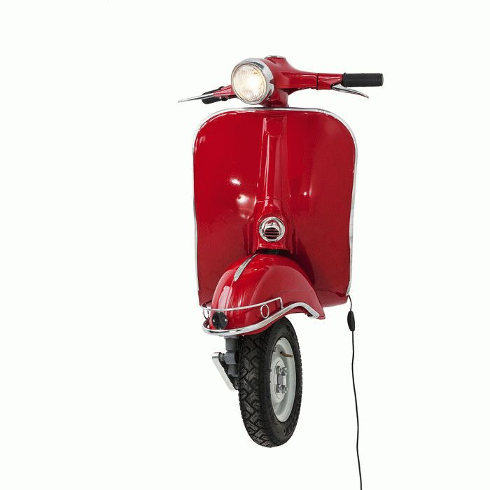 Wall Lamp Scooter Red Big