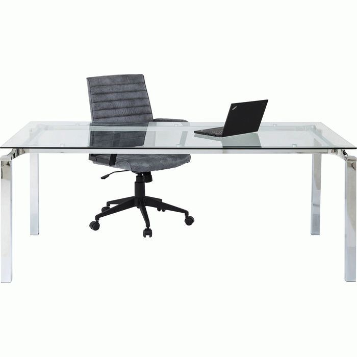 Table Lorenco Chrome 180x90cm