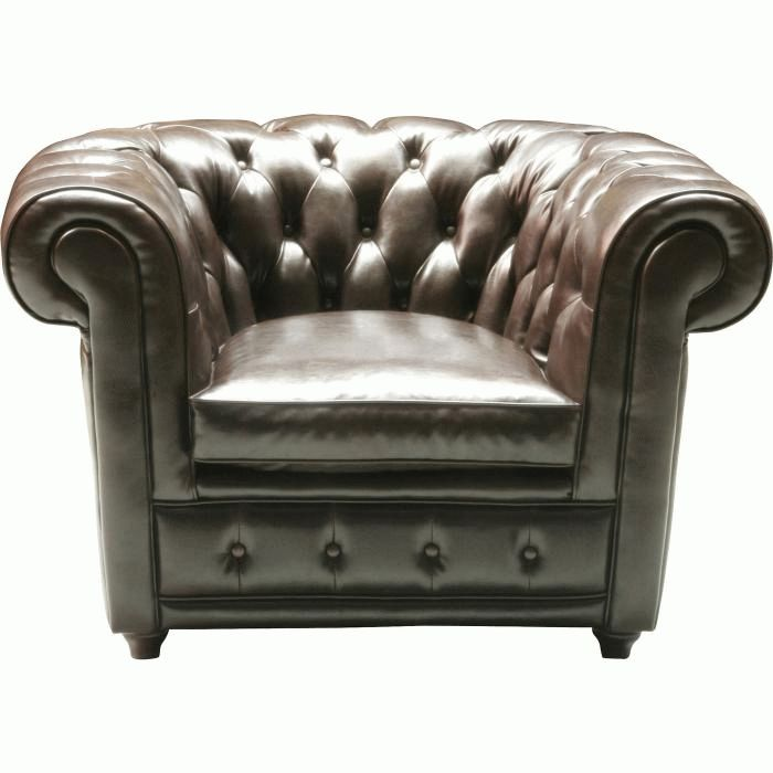 Arm Chair Oxford bycast leather
