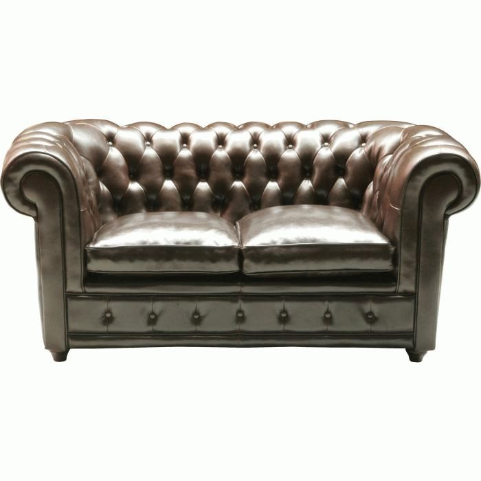 Sofa Oxford 2-seater bycast leather