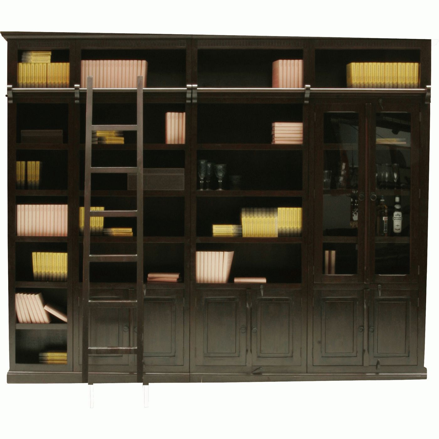Cabana Library element Display Cabinet