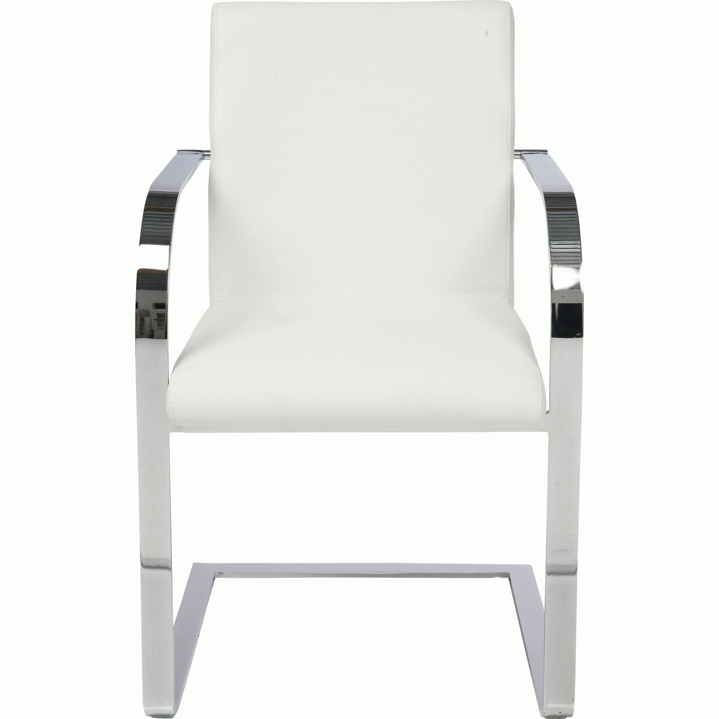 Cantilever Arm Chair Candodo White