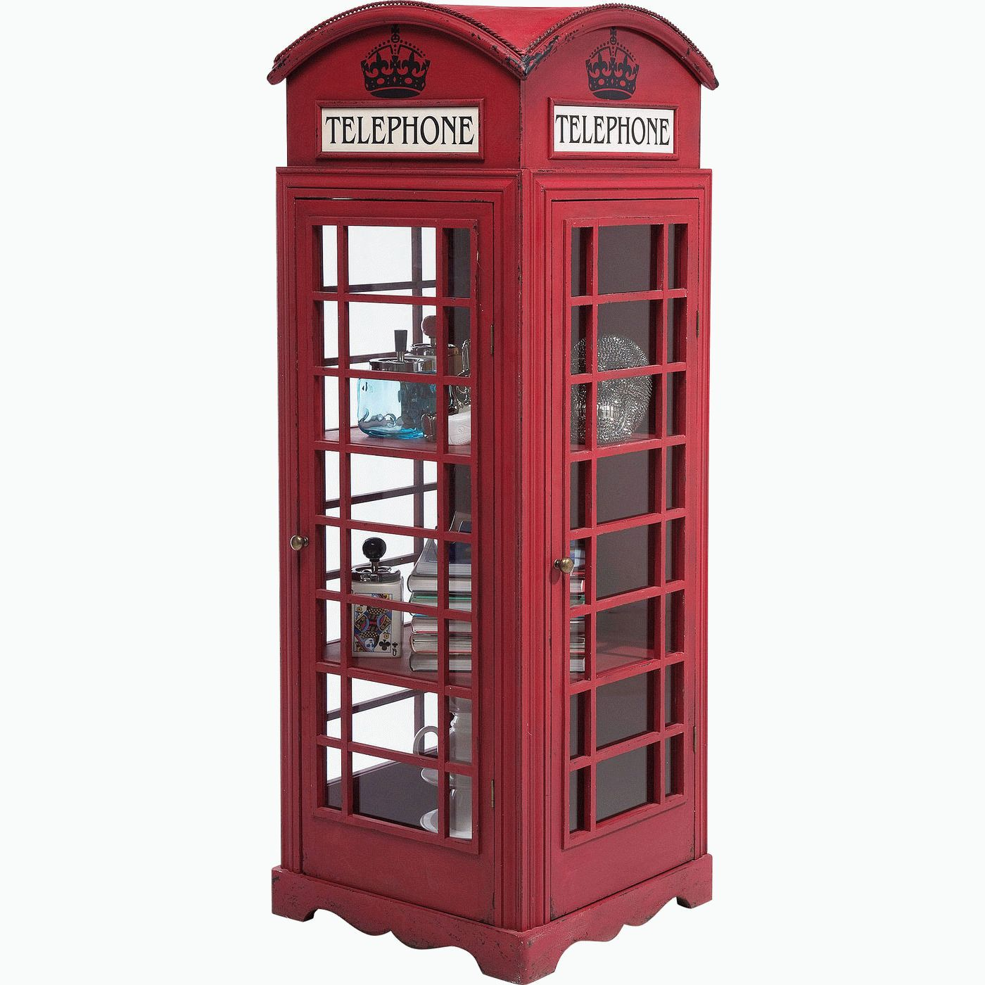 "Vitriinikaappi ""London Telephone"""