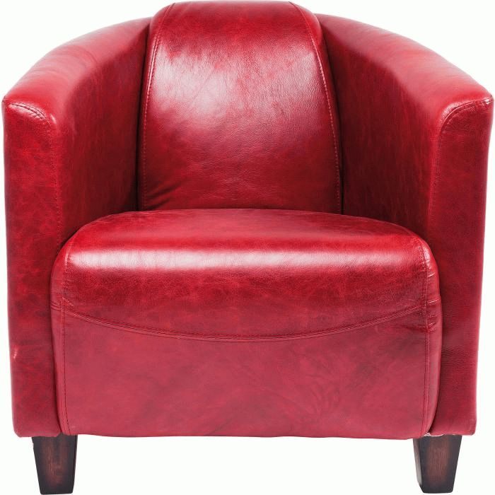 Arm Chair Cigar Lounge Red