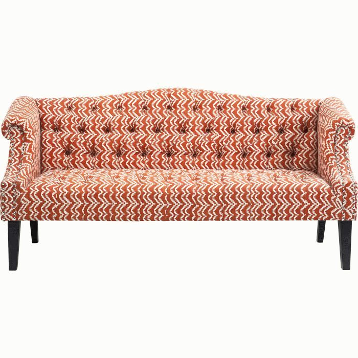 Sofa Julietta Orange 3-Seater