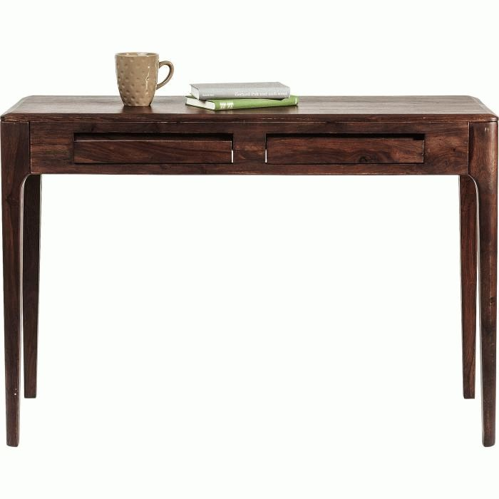 "Konsoli ""Brooklyn Walnut"", Console Laptop Desk"