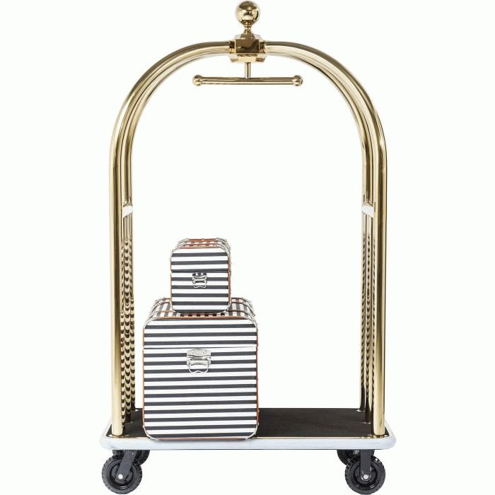 VIP Baggage Trolley Vegas Gold