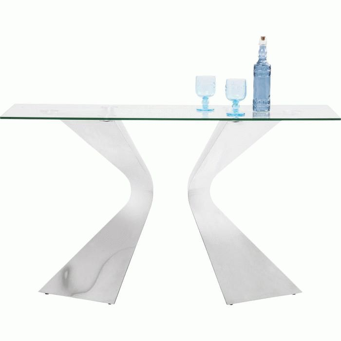Console Table Gloria Chrome