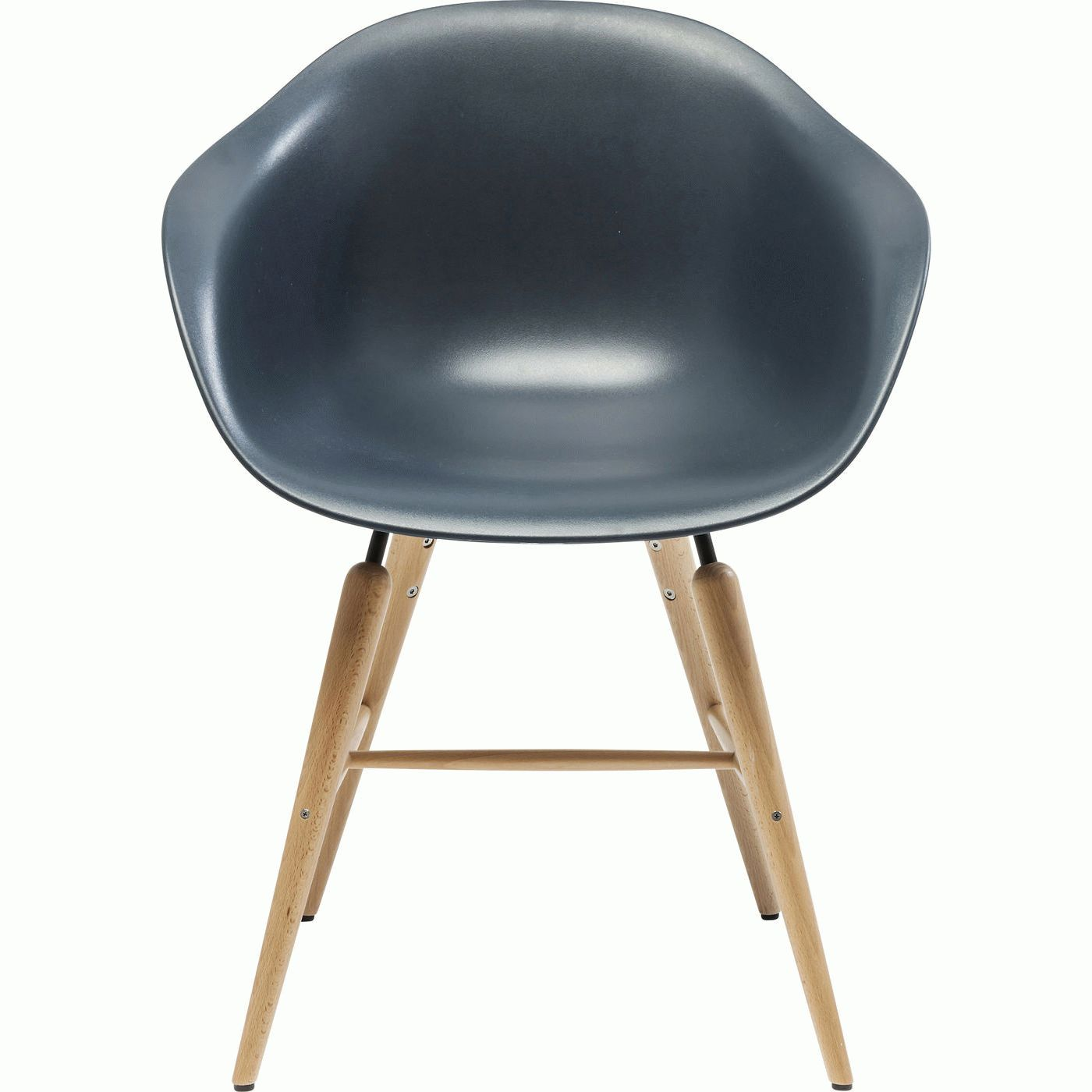 Chair with Armrest Forum Object Grey